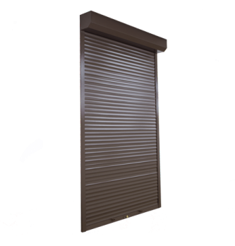 Защитные ролеты на двери ручные 1000х2200 мм
