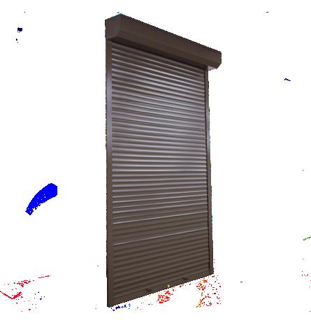 Защитные ролеты на двери ручные 1000х2200 мм - 1
